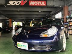 沖縄の中古車 ポルシェ ポルシェ 車両価格 ASK リ済別 2001年 3.4万K ダークブルー