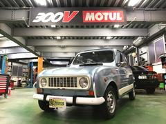 沖縄の中古車 ルノー ルノー 4 車両価格 64万円 リ済別 1990年 11.0万K ライトブルーM