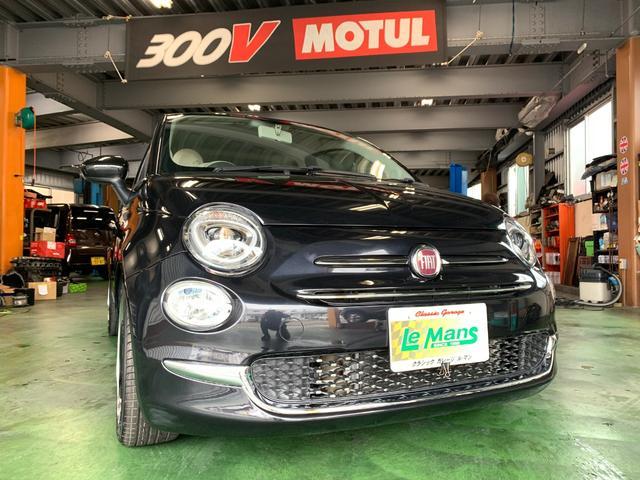 沖縄の中古車 フィアット フィアット 500 車両価格 122.5万円 リ済別 2013(平成25)年 4.6万km ブラックM