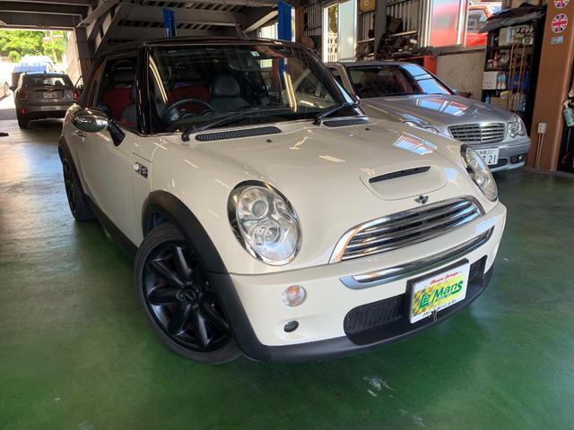 沖縄県の中古車ならMINI クーパーS コンバーチブル
