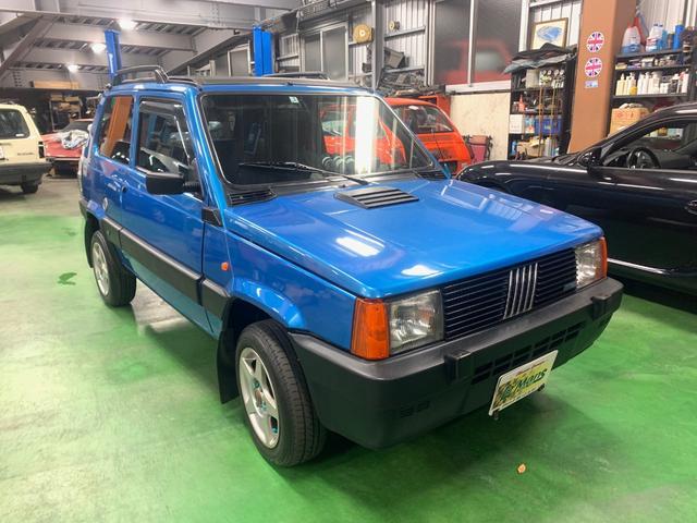 沖縄の中古車 フィアット フィアット パンダ 車両価格 ASK リ済別 1995(平成7)年 9.4万km ブルーM