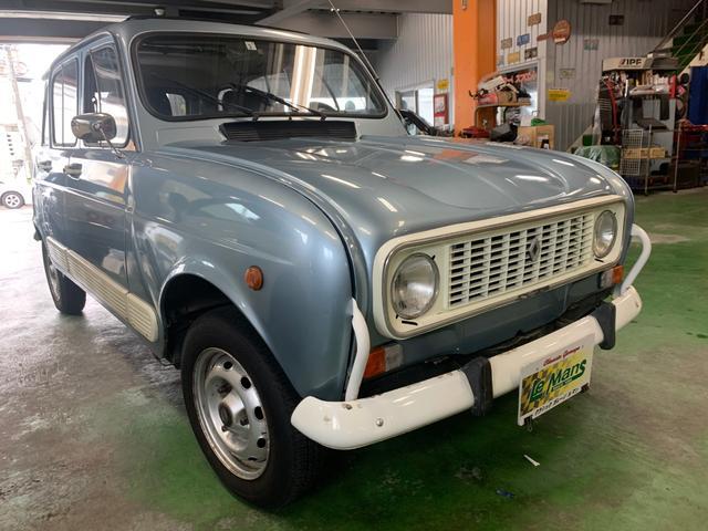 沖縄の中古車 ルノー 4 車両価格 ASK リ済別 1990(平成2)年 11.2万km ライトブルーM