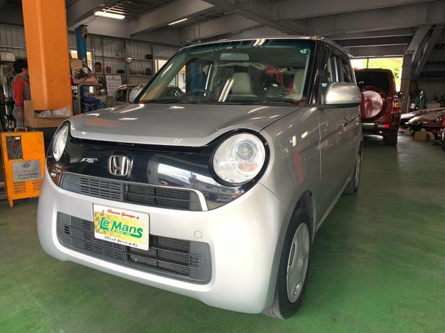沖縄の中古車 ホンダ N-ONE 車両価格 59.9万円 リ済込 2014(平成26)年 2.7万km シルバーM