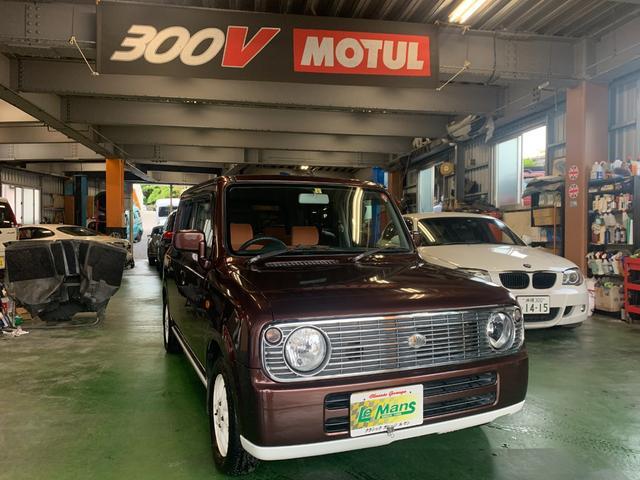 沖縄の中古車 スズキ アルトラパン 車両価格 29.8万円 リ済別 2008(平成20)年 6.6万km ブラウンII