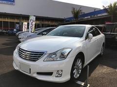 沖縄の中古車 トヨタ クラウン 車両価格 134万円 リ済別 平成20年 8.9万K パールホワイト