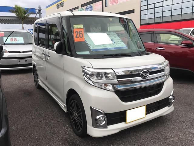 沖縄の中古車 ダイハツ タント 車両価格 128万円 リ済別 平成26年 5.0万km パール