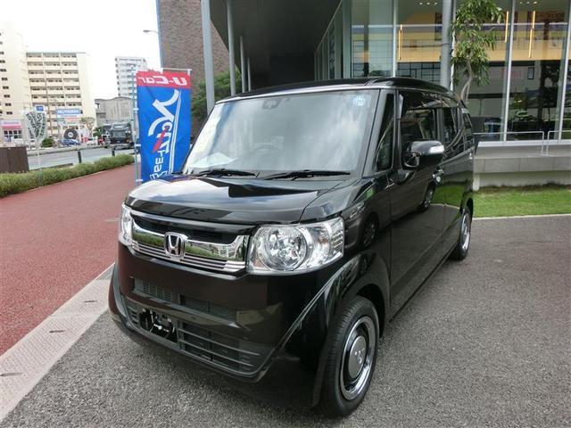 沖縄の中古車 ホンダ N-BOXスラッシュ 車両価格 129.6万円 リ済別 2015(平成27)年 4.8万km ブラック