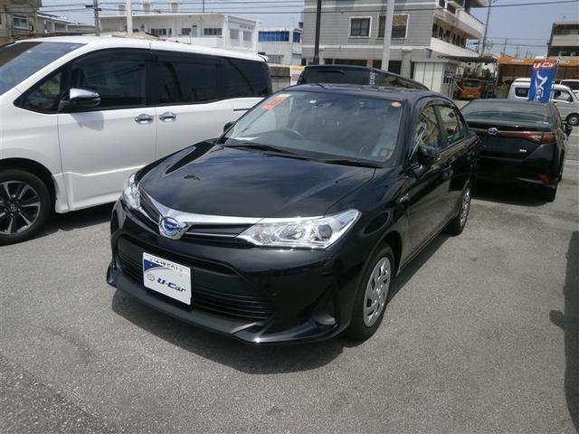 沖縄県浦添市の中古車ならカローラアクシオ ハイブリッド X