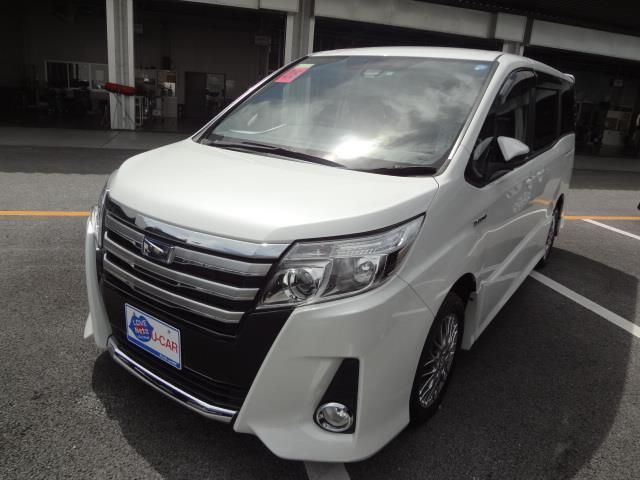 沖縄県浦添市の中古車ならノア ハイブリッドSi