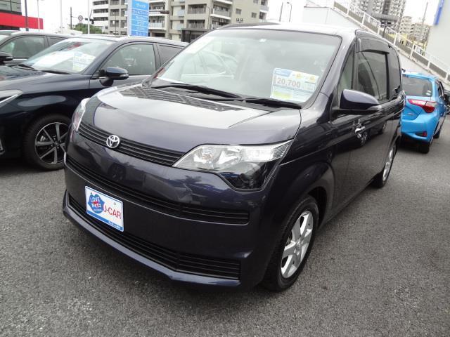 沖縄の中古車 トヨタ スペイド 車両価格 121万円 リ済別 2015(平成27)年 1.2万km パープル