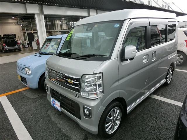 沖縄の中古車 スズキ エブリイワゴン 車両価格 149.6万円 リ済別 2015(平成27)年 3.5万km シルバー