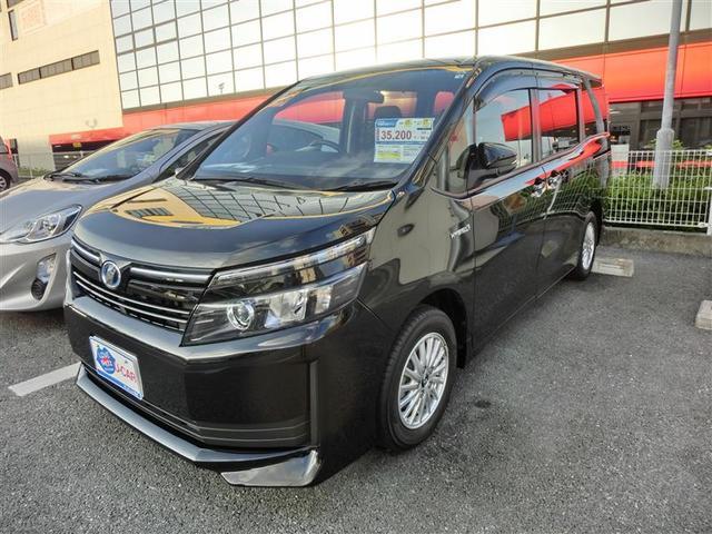 沖縄の中古車 トヨタ ヴォクシー 車両価格 205.7万円 リ済別 2014(平成26)年 4.5万km ブラック