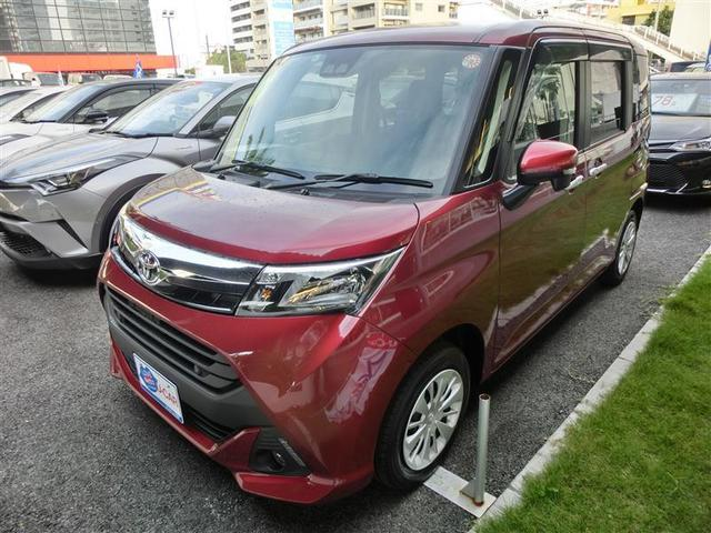沖縄の中古車 トヨタ タンク 車両価格 187万円 リ済別 2019年 0.2万km ワイン