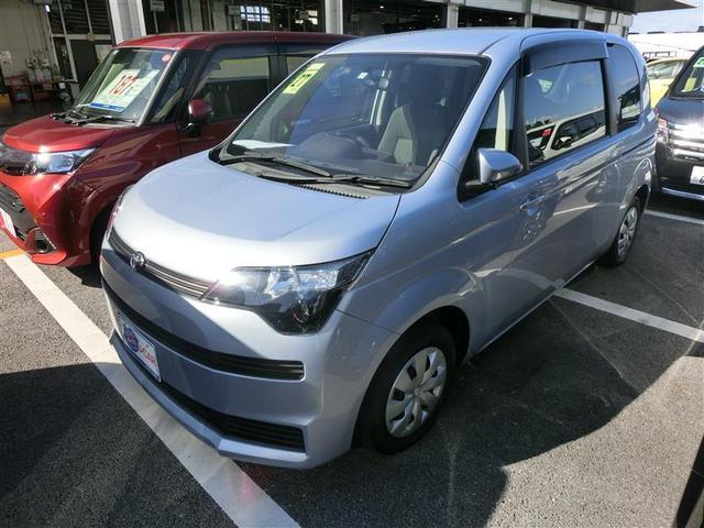 沖縄の中古車 トヨタ スペイド 車両価格 99万円 リ済別 2015(平成27)年 2.0万km シルバー