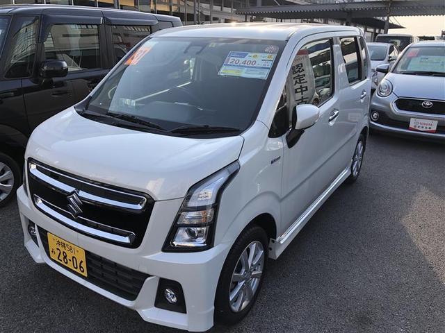 沖縄の中古車 スズキ ワゴンRスティングレー 車両価格 129.8万円 リ済別 2019年 0.5万km パールマイカ