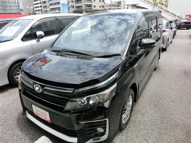 沖縄県の中古車ならヴォクシー ハイブリッドZS