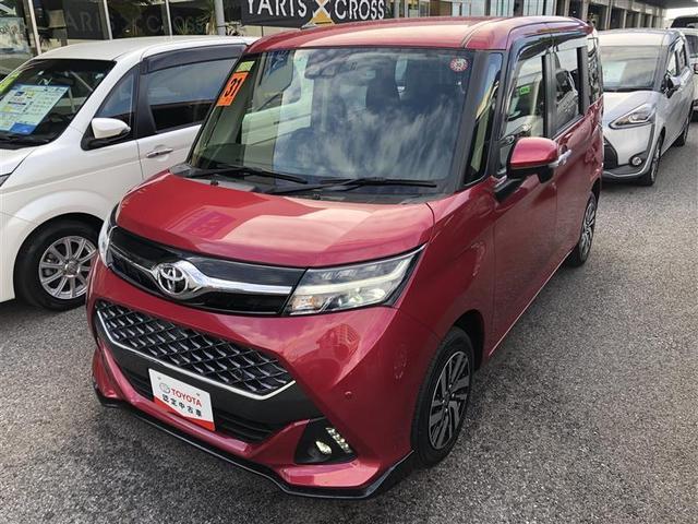 沖縄の中古車 トヨタ タンク 車両価格 165万円 リ済別 2019年 0.9万km ピンク