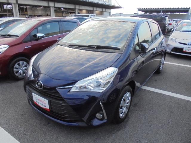 沖縄の中古車 トヨタ ヴィッツ 車両価格 121万円 リ済別 2019年 0.3万km アオ