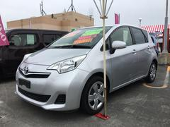 沖縄の中古車 トヨタ ラクティス 車両価格 79万円 リ済込 平成24年 6.3万K シルバー