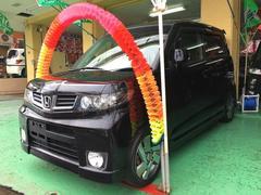 沖縄の中古車 ホンダ ゼストスパーク 車両価格 64万円 リ済込 平成23年 8.2万K ブラック