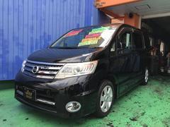 沖縄の中古車 日産 セレナ 車両価格 88万円 リ済込 平成22年 8.9万K ブラック