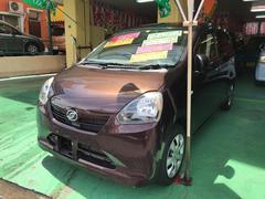 沖縄の中古車 ダイハツ ミライース 車両価格 66万円 リ済込 平成24年 4.4万K ブラウン