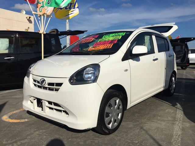 沖縄の中古車 ダイハツ ミライース 車両価格 64万円 リ済込 2012(平成24)年 6.5万km ホワイト