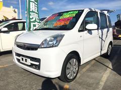 沖縄の中古車 スバル ステラ 車両価格 60万円 リ済込 平成23年 5.6万K ホワイト