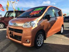 沖縄の中古車 スバル ステラ 車両価格 74万円 リ済込 平成24年 6.6万K オレンジ