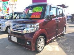 沖縄の中古車 ホンダ N BOXカスタム 車両価格 116万円 リ済込 平成24年 6.5万K ワイン