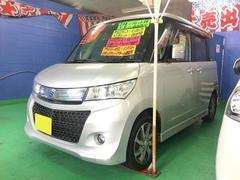沖縄の中古車 スズキ パレットSW 車両価格 74万円 リ済込 平成23年 7.1万K シルバー