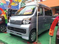 沖縄の中古車 ダイハツ アトレーワゴン 車両価格 84万円 リ済込 平成23年 7.3万K シルバー
