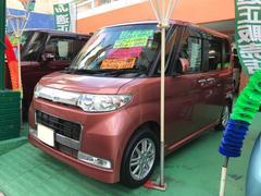 沖縄の中古車 ダイハツ タント 車両価格 76万円 リ済込 平成22年 6.6万K ピンク