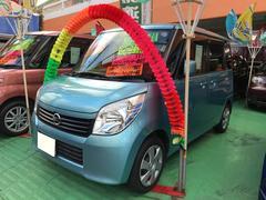 沖縄の中古車 日産 ルークス 車両価格 66万円 リ済込 平成22年 7.5万K ライトブルー