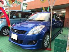 沖縄の中古車 スズキ スイフト 車両価格 95万円 リ済込 平成24年 6.0万K ブルー