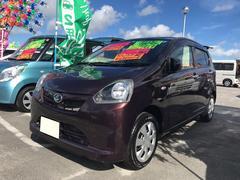 沖縄の中古車 ダイハツ ミライース 車両価格 56万円 リ済込 平成24年 4.4万K ブラウン