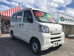沖縄の中古車 ダイハツ ハイゼットカーゴ 車両価格 54万円 リ済込 平成26年 11.9万K ホワイト