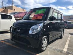 沖縄の中古車 日産 ルークス 車両価格 74万円 リ済込 平成25年 6.4万K ブラック