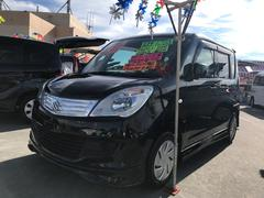 沖縄の中古車 スズキ ソリオ 車両価格 88万円 リ済込 平成25年 3.7万K ブラック