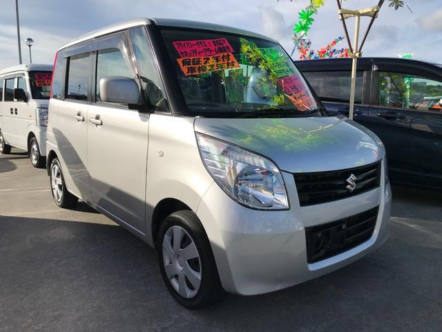 沖縄の中古車 スズキ パレット 車両価格 74万円 リ済込 平成23年 7.9万km シルバー