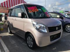 沖縄の中古車 スズキ パレット 車両価格 74万円 リ済込 平成23年 7.9万K ピンク