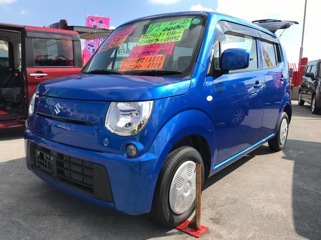 沖縄の中古車 スズキ MRワゴン 車両価格 74万円 リ済込 平成23年 4.5万km パールメタリックカシミールブルー