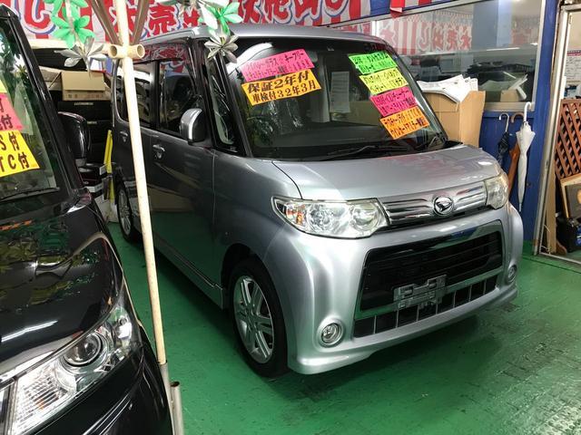 沖縄の中古車 ダイハツ タント 車両価格 74万円 リ済込 2011(平成23)年 7.9万km シルバー