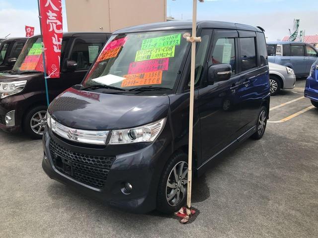 沖縄の中古車 スズキ パレットSW 車両価格 84万円 リ済込 2012(平成24)年 7.8万km ダークブルー