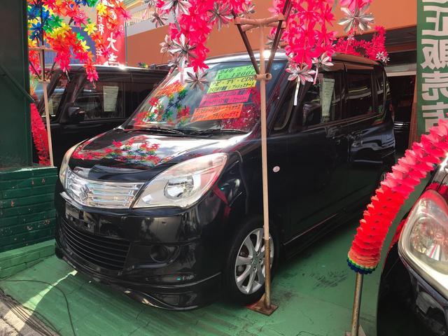 沖縄の中古車 スズキ ソリオ 車両価格 79万円 リ済込 2012(平成24)年 7.6万km ブラック