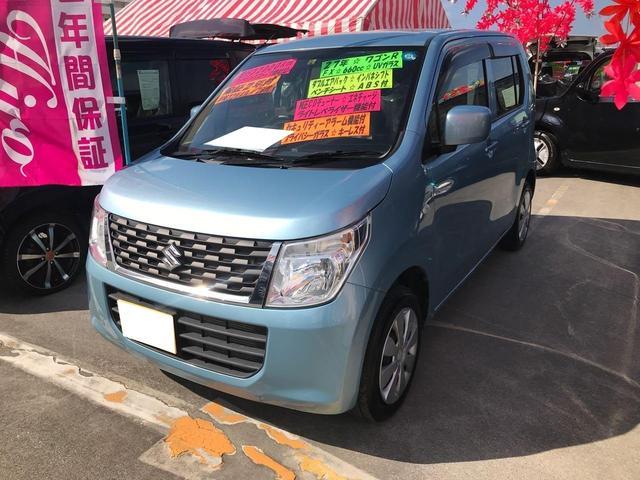 沖縄県宜野湾市の中古車ならワゴンR FX ベンチシート ABS 純正CD インパネシフト