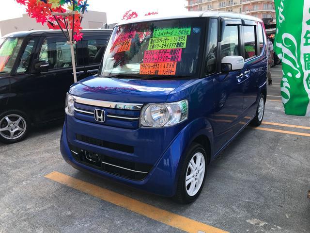 沖縄県の中古車ならN-BOX G・Lパッケージ 純正CD 片側パワースライドドア