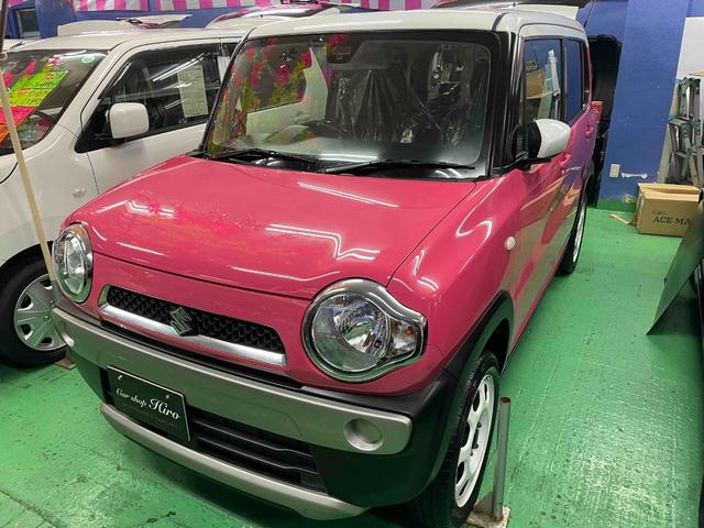 沖縄の中古車 スズキ ハスラー 車両価格 104万円 リ済込 2016(平成28)年 3.0万km ピンク