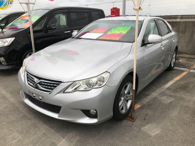 沖縄の中古車 トヨタ マークX 車両価格 79万円 リ済込 2010(平成22)年 10.4万km シルバー