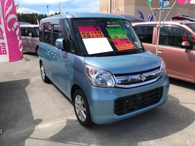 沖縄県宜野湾市の中古車ならスペーシア T インタークーラーターボ DVDナビ TV バックモニター